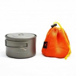 Toaks Light Titanium 700ml D115 Pot mit Packsack
