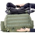 Savotta LJK Modular Rucksack Bodenfach mit MOLLE Schlaufen