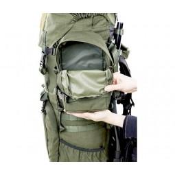 Savotta LJK Modular Rucksack Innenseite Seitentaschen