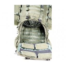 Savotta LJK Modular Rucksack Bodenfach geöffnet mit Innenfächern