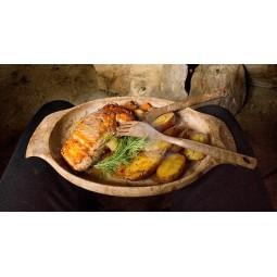 Kupilka Teller 44 Beispielbild mit Essen darin
