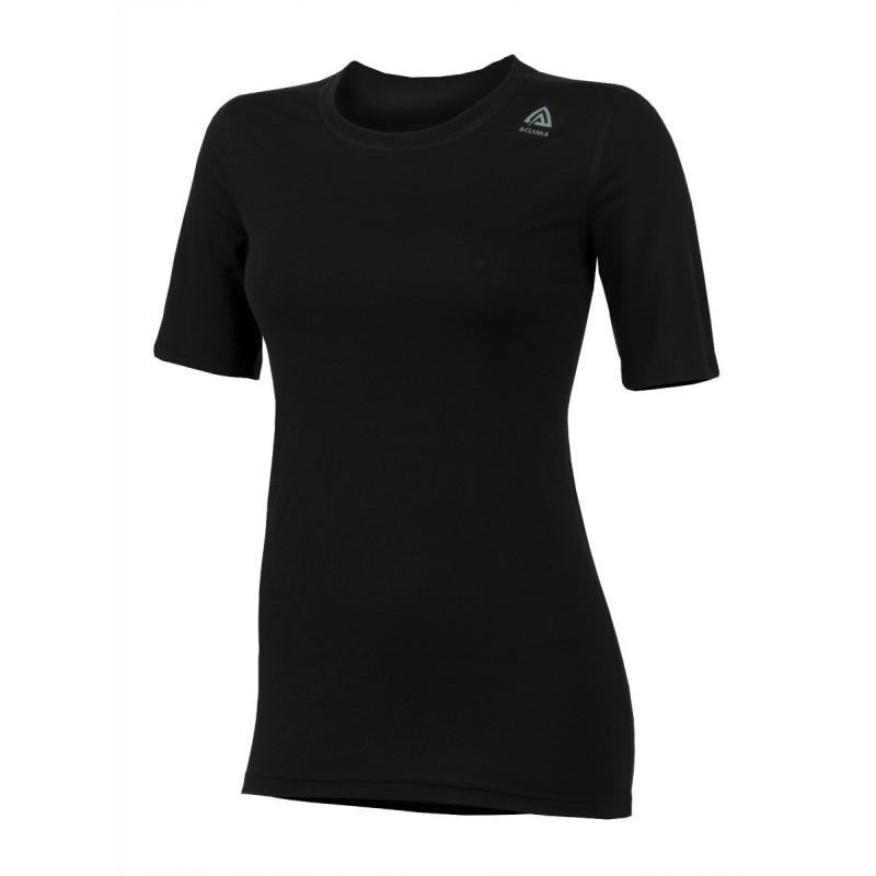 Aclima Lightwool T-Shirt Classic Woman Schwarz