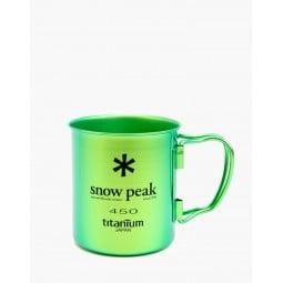 Snow Peak Ti-Single 450 Cup Eloxiert Titantasse