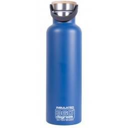 360 Degrees Vacuum Insulated Thermosflasche blau