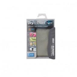 Sea To Summit Drylite Towel Reisehandtuch grau verpackt