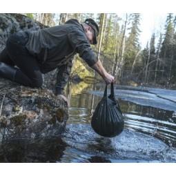 Mit dem Savotta Wassersack überall Wasser holen