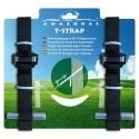 Amazonas T-Strap Hängemattenaufhängung -  AZ-3025002 - Lieferumfang: Set mit 2 Gurten