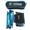 Helinox Chair One Packsack und Inhalt zusammengefaltet