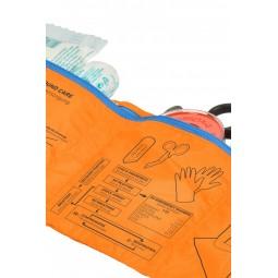 Ortovox First Aid Roll Doc Fächer mit wichtigen Ersthelfer Informationen