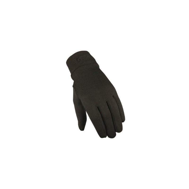 Trekmates Grippi Unisex Lining Gloves Schwarz