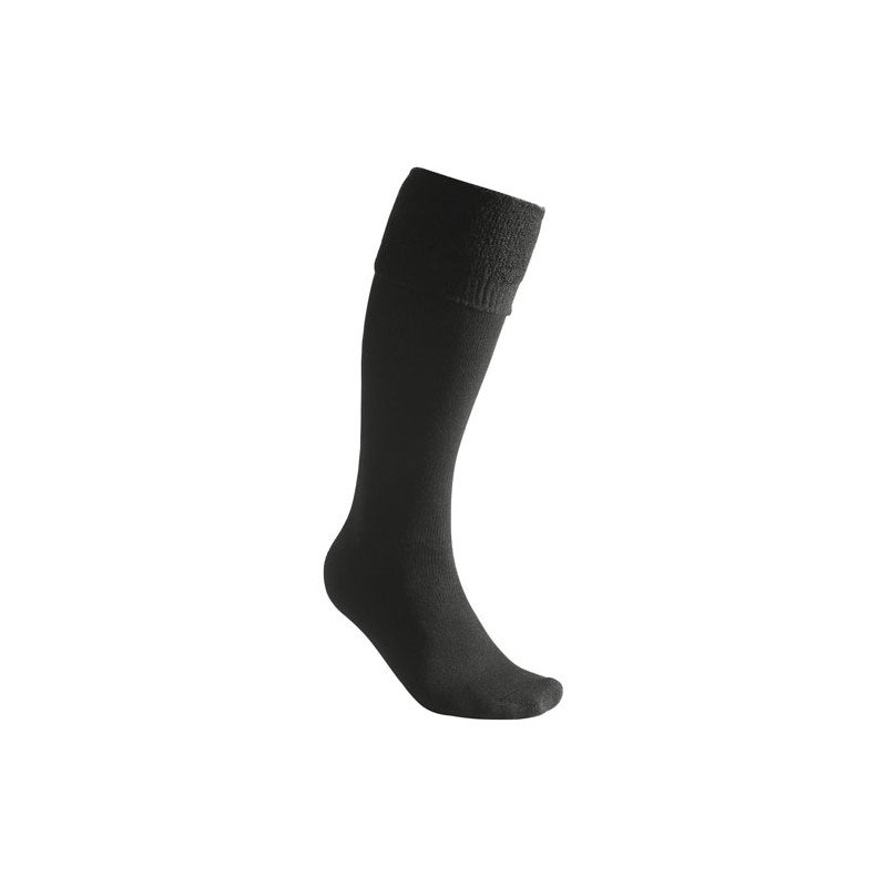 Woolpower Socks Knee High 400 Schwarz