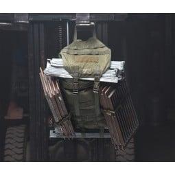 Savotta Jäger Mini Rucksack extrem robust auch mit schwerer Testbelastung