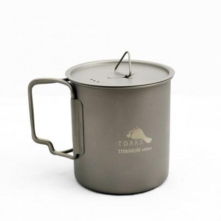 Toaks Titanium 450ml Cup mit Deckel