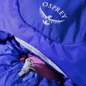 Osprey Ariel AG 65 Detailansicht Deckel und Hauptfach