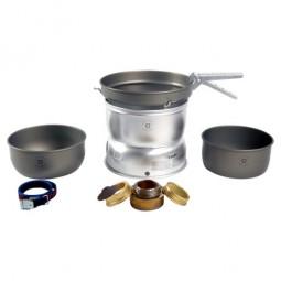 Trangia 25-7 UL Alu mit Schüseln und Pfanne aus HA Alu