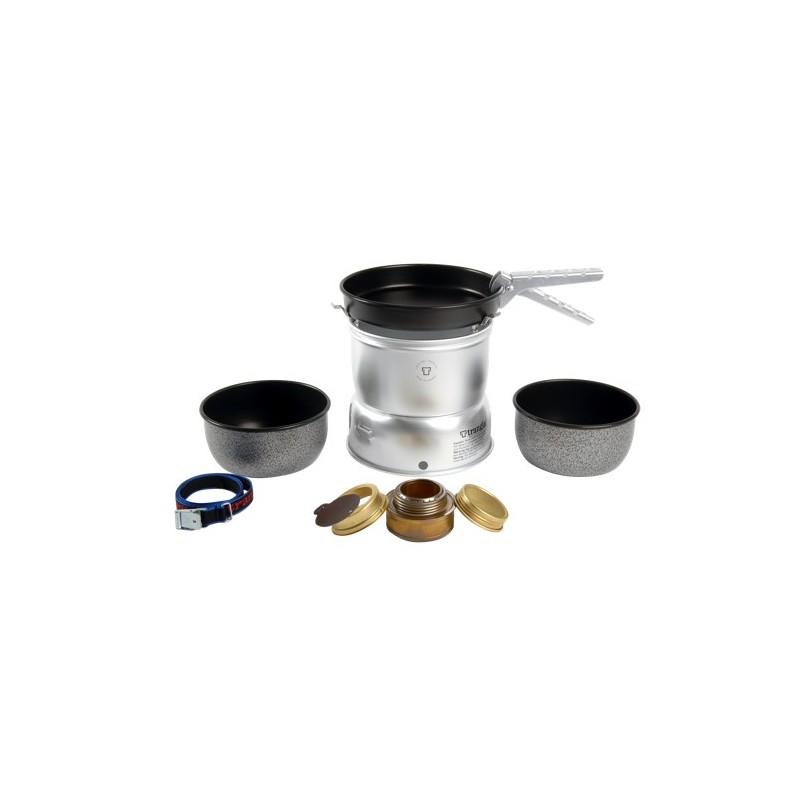 Trangia 27-5 UL Aluminium mit Nonstick Schüsseln und Pfanne