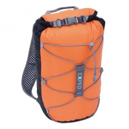 Exped Cloudburst 15 Rucksack Black / Orange