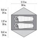 MSR Carbon Reflex 2 Abmessungen Liegefläche