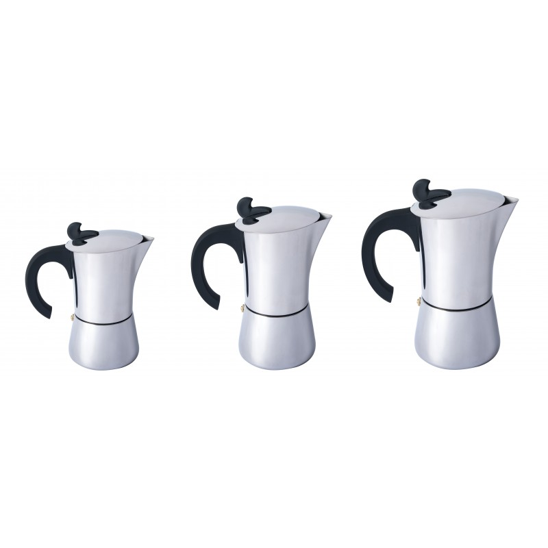 Relags Espresso Maker Edelstahl