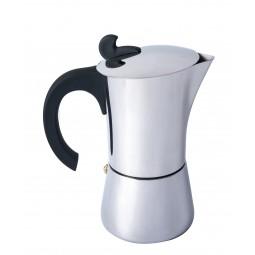 Relags Espresso Maker Edelstahl 6 Tassen