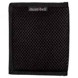 Montbell Slim Wallet Mesh schwarz