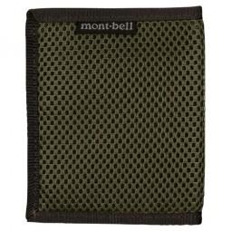 Montbell Slim Wallet Mesh oliv