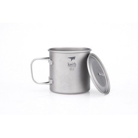 Keith Titanium 650ml Topf
