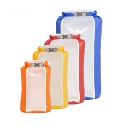 Exped Fold-Drybag CS 4 Pack bestehend aus den Größen XS bis L