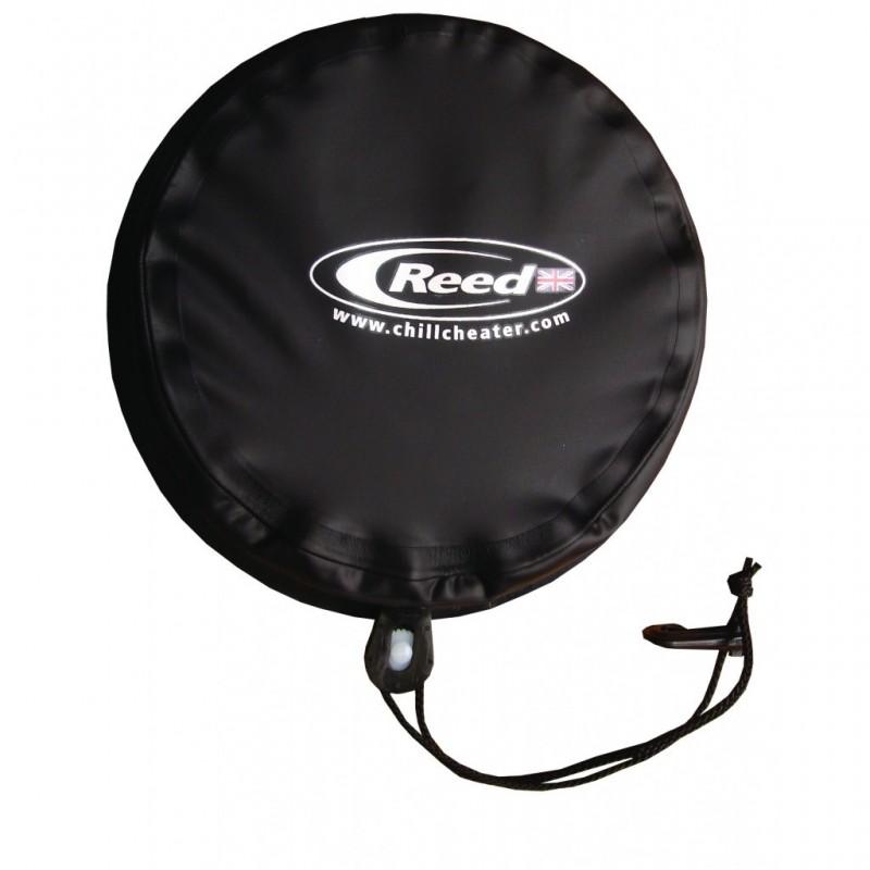 Reed Stauraumdeckel rund (schwarz)