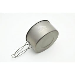 Toaks Titanium 900ml Pot seitlich