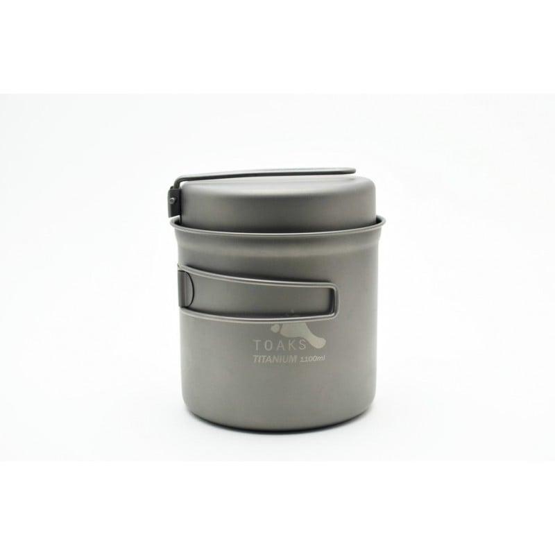 Toaks Titanium 1100ml Topf mit Pfanne CKW-1100