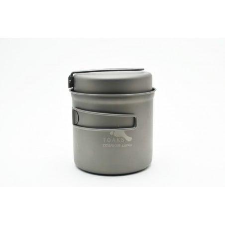 Toaks Titanium 1100ml Pot mit Pfanne