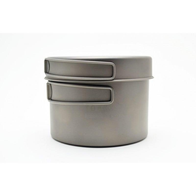 TOAKS Titanium 1300ml Pot mit Pfanne