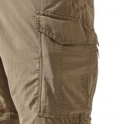 Craghoppers NosiLife Convertible Trousers - praktische Cagotaschen mit zusätzlicher RV-Tasche