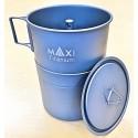 Maxi Titanium Armins Coffeemaker XL in seinen Einzelteilen - gefertigt aus feinstem Titan