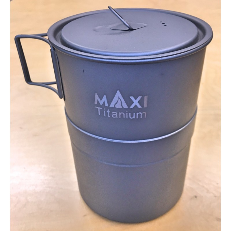 Maxi Life Enhance Armin Coffeemaker XL aus feinstem Titan