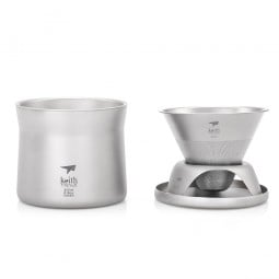 Keith Titanium Kaffee & Tee Filter