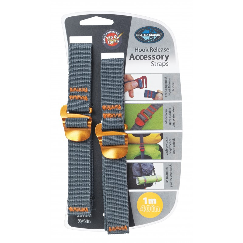 Sea to Summit Hook Release Accessory Straps 100 cm