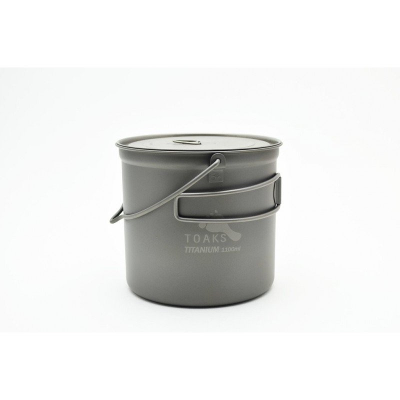 Toaks Titanium 1100ml Pot mit Henkel