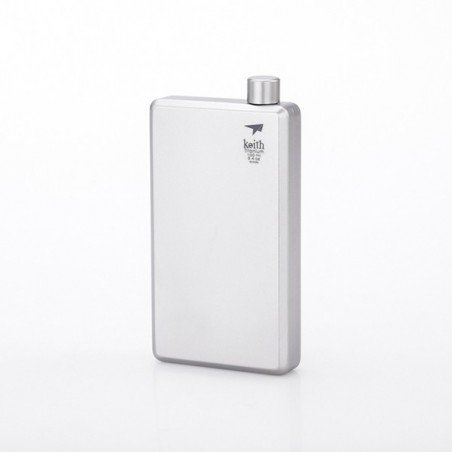 Keith Titanium Pocket Flask