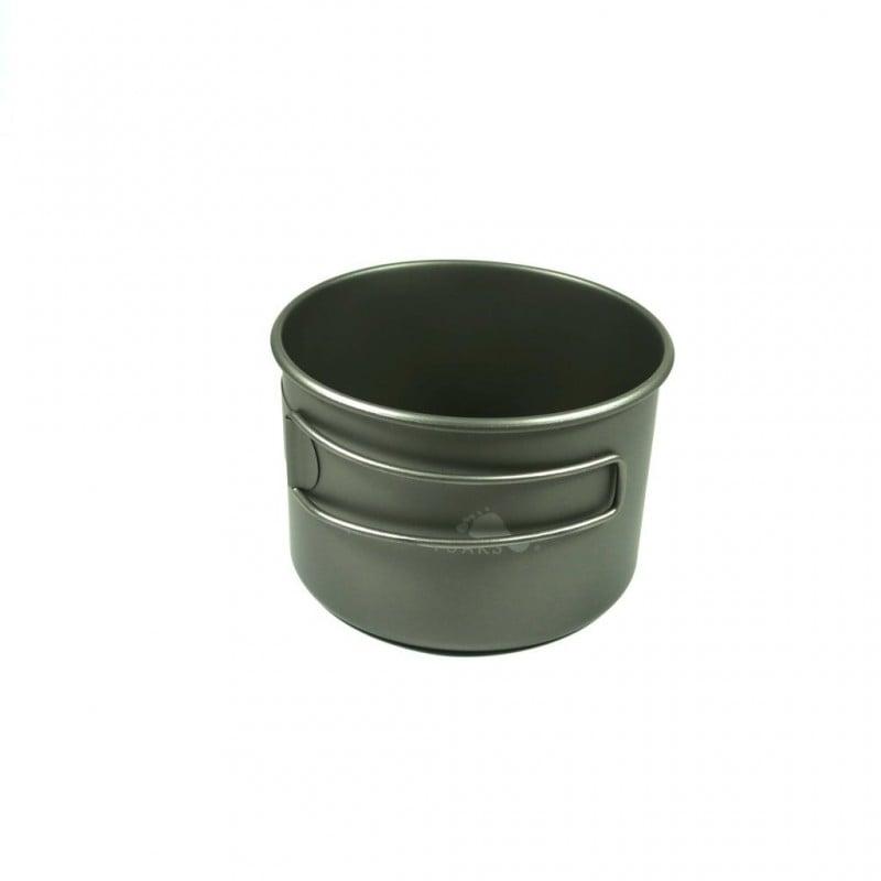 Toaks Titanium D103 Bowl 550ml hohes Titangefäß