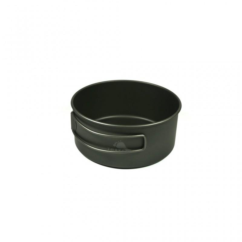 Toaks Titanium D118 Bowl 550 ml mit eingeklapptem Griff