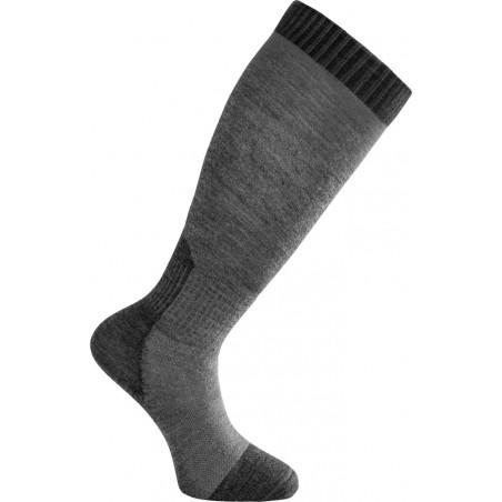 Woolpower Skilled Liner Classic Socke in der Farbe Dark Grey-Grey