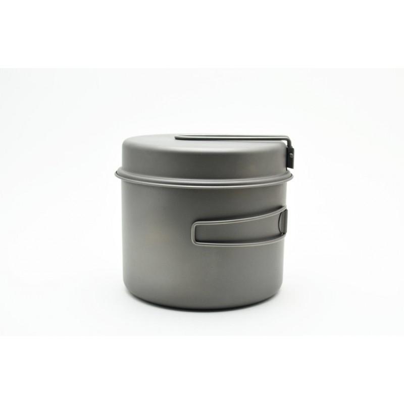 Toaks Titanium 1600ml Pot mit Pfanne