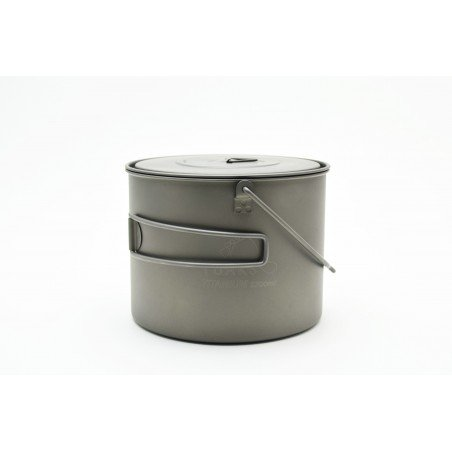 Toaks Titanium 1300ml Pot mit Henkel
