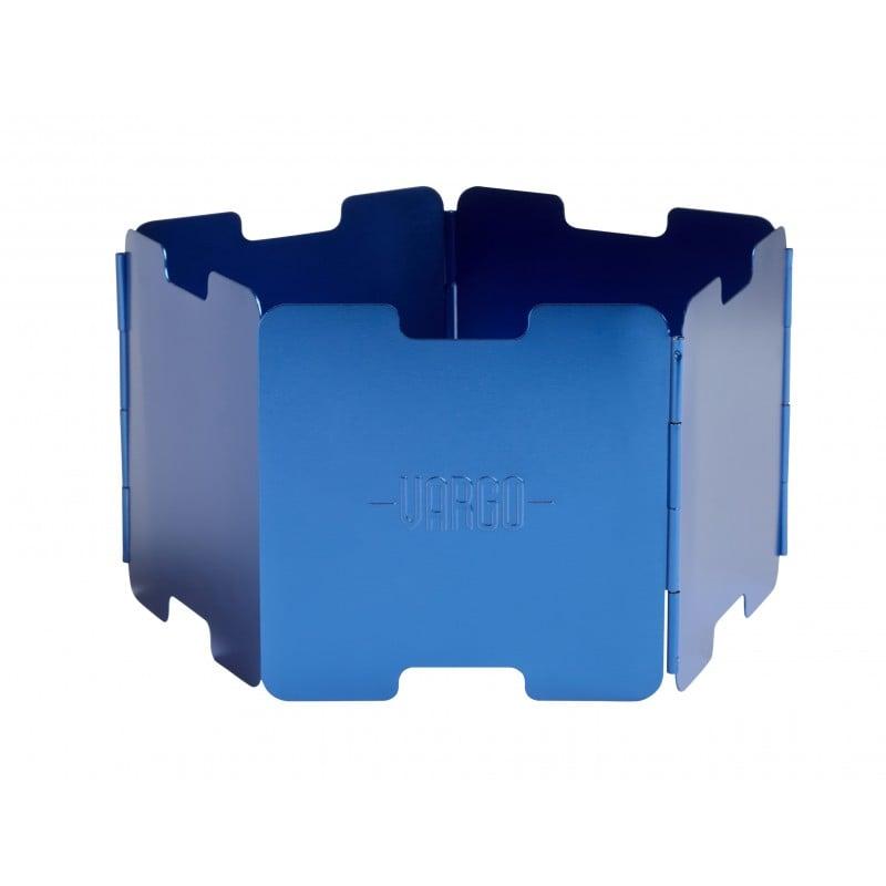 Vargo Windschutz Aluminium in Blue (Blau)