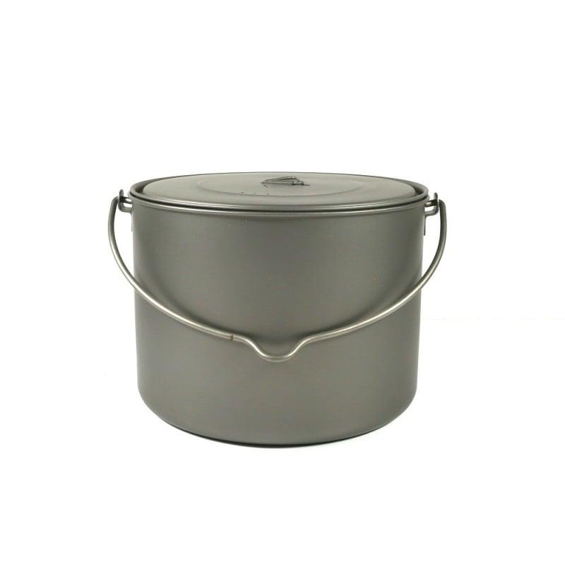Toaks Titanium 1600ml Pot mit Henkel und Griff