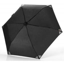 Euroschirm Light Trek Ultra Regenschirm in Schwarz reflektierend