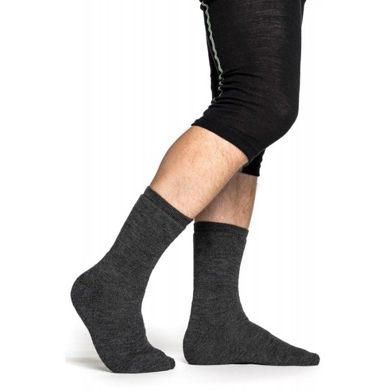 Woolpower Socke 400 grau