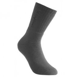 Woolpower Logo 400 Socke Grau